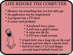 Life Before Computers - A Quick LOL