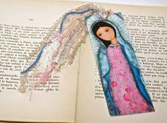 Holy Mary of Guadalupe   Laminated Bookmark  by FlorLarios on Etsy, $8.00