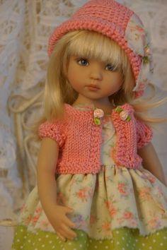 "Effner Little Darling 13"" *PEACHY KEEN* Ensemble by Ladybugs Doll Designs #DiannaEffner"