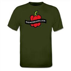 Now available @Shirtcity German Vegan-Shirt Gemüsegriller T-Shirt