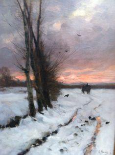 Dutch impressionism Anton Mauve Singer Museum Laren, The Netherlands