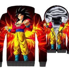 Enthusiastic New Winter Jackets& Coats Dragon Ball Z Hoodie Anime Son Goku Hooded Thick Cardigan Sweatshirt Men Zipper Warm Streetwear Hoodie Attractive And Durable Men's Clothing