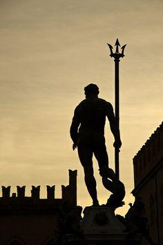 Statua di Nettuno #3 Bologna, 08.12.2011