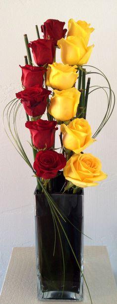 Not your average dozen roses.                                                                                                                                                                                 More
