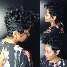 Short hair #pixie Khimandi