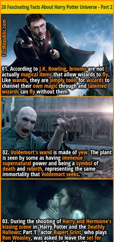Harry Potter Part 2, Harry Potter Pictures, Harry Potter Jokes, Harry Potter Universal, Wtf Fun Facts, Crazy Facts, Random Facts, Amazing Facts, Interesting Facts