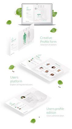 Vannelope - health APP Portfolio Web Design, Creative Portfolio, Health App, User Profile