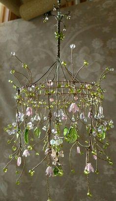 20 cool DIY chandelier ideas for inspiration – Garten Dekoration ideen – Cool Diy, Fun Diy, Diys, Deco Boheme, Diy Chandelier, Flower Chandelier, Chandelier Creative, Chandelier Makeover, Chandelier Crystals