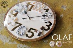 OLAF [オラフ]■壁掛け時計 【インターフォルム】:INTERFORM