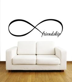 Infinity Symbol Wall Decal Bedroom Vinyl Decals by BestDecals, $14.99