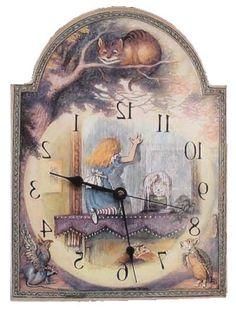 20 Best Alice In Wonderland Clocks Images Alice In Wonderland