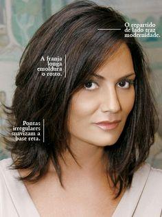 Corte médio - Luiza Brunet