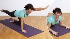 Tvärtemot vad många kanske tror är rörelse ett både skonsamt och effektivt sätt att lindra ryggsmärta. Åsa Rippe visar här fyra rörelser som du kan använda både vid den akuta fasen och