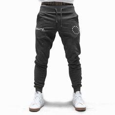 New Men Drawstring Cotton Sweatpants Gyms Fitness Trousers Man Jogger Workout Casual Fashion Pant Brand Pencil Pants Sportswear. Workout Gear, Gym Workouts, Cotton Sweatpants, New Man, Fashion Pants, Parachute Pants, Joggers, Sportswear, Trousers