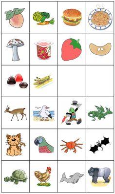 Casulo_ Materiais de Terapia da Fala: Categorização semântica som G