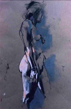 Crawfurd Adamson I charcoal & pastel (via Pinterest)