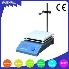 SH-4C Digital Display Ceramic Magnetic Stirrer, 19*19cm Ceramic Plate, 380 degree, 110V/220V