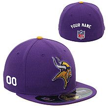 Men s New Era Minnesota Vikings Customized Onfield 59Fifty Football  Structured Fitted Hat Football Gear f15529f24
