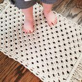 Small Macramé Rugs Boho Home Decor Bohemian Carpet Soft Beige Carpet, Diy Carpet, Rugs On Carpet, Carpet Decor, Carpet Ideas, Cheap Carpet, Room Rugs, Rugs In Living Room, Maria Eugenia