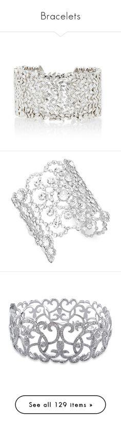 """Bracelets"" by smilxngstars on Polyvore featuring jewelry, bracelets, accessories, bracelets & bangles, silver, 18 karat gold bangles, hinged cuff bracelet, cuff bangle, hinged bracelet und cuff bangle bracelet"