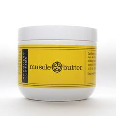 Muscle Butter... I need to try this  Loaded with a stimulating mix of cooling and pain relieving essential oils, this therapeutic lotion encourages blood flow to sore and tired muscles and helps the body rid itself of lactic acid build-up. Apply directly to skin in areas that need the most TLC.