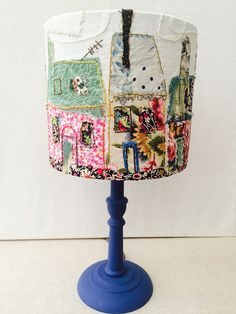 Creative - Shining a light on lampshade making Make! Craft Britain's fabric arts teacher's step-by-step guide to creating a lampshade. Craft Britain's fabric arts teacher's step-by-step guide to creating a lampshade. Lampshade Designs, Fabric Lampshade, Fabric Art, Lampshade Ideas, Hobbies And Crafts, Arts And Crafts, Luminaria Diy, Craft Projects, Sewing Projects