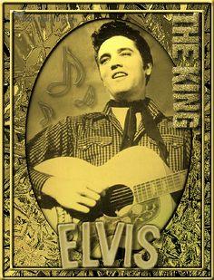 Elvis Glitter plaatjes