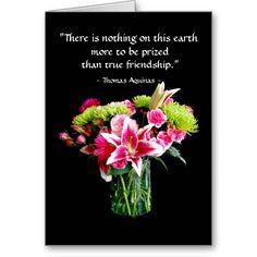 True Friend Happy Birthday, Stargazer Lily Bouquet #Friendship card http://www.zazzle.com/true_friend_happy_birthday_stargazer_lily_bouquet_card-137907442140305269?rf=238577061362460707