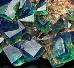 Amazing Geologist Fluorite - Rogerley Mine, Weardale, North Pennines, Co. Durham, England Source: awminerals