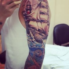 Now I want to add a lighthouse to my tattoo after seeing this...