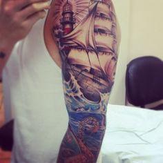 epic ship and kraken