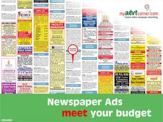 Situation Vacant/Recruitment Advertisement in Newspaper is easy and reliable for searching suitable candidates for desired Position in Company, Book Ads Online: http://www.myadvtcorner.com/category-situation-vacant