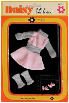 Barbie Dress, Barbie Doll, Mary Quant, Girls Best Friend, Beautiful Dolls, Doll Toys, Childhood Memories, Doll Clothes, Daisy