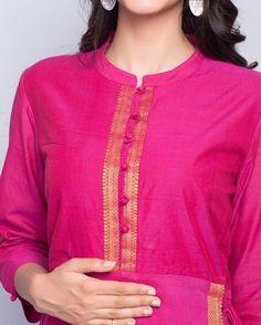 Latest Kurti Designs for Girls Chudidhar Neck Designs, Salwar Neck Designs, Churidar Designs, Kurta Neck Design, Neck Designs For Suits, Kurta Designs Women, Dress Neck Designs, Designs For Dresses, Neck Design For Kurtis
