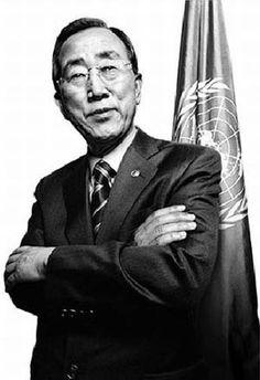 Ban Ki-moon  Secretary-General, United Nations  Born June 13, 1944  In office since January 1, 2007