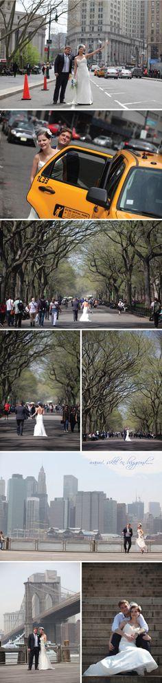 Bryllupsbilleder New York