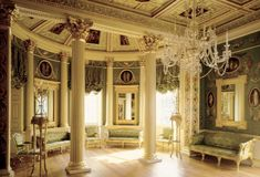 Painted Room Designed and painted in 'the antique manner' by James 'Athenian' Stuart, the Painted Room at Spencer House is one of the most famous eighteenth-century interiors in England. Asian Home Decor, European Home Decor, Romantic Home Decor, Romantic Homes, Home Design, Design Ideas, Set Design, Cosy Interior, Interior Design