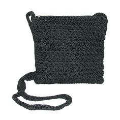 Whether you use this as a shoulder bag or a crossbody, it is certain to become a favorite. The lightweight styling with crochet finish adds a fresh updated finish. The interior features numerous pockets to keep you organized including 3 card slots, 2 slip pocket and a zippered pocket. Keep your valuables organized and look great at the same time with this crochet handbag.