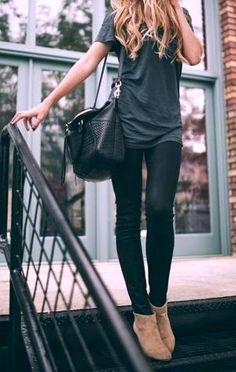 black & gray. booties.