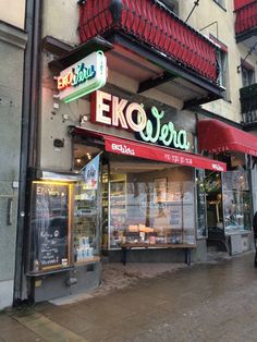 Eko Wera - Stockholm, Sweden. Entré