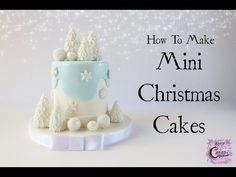 Mini Christmas Cakes - Easy How To