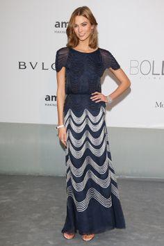 Karlie Kloss en robe Chanel