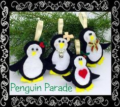 Feltie Penguin Pattern | Projects at DIY Center