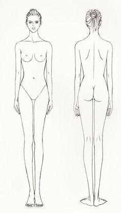 我们可以把人体简化归结为一个由几何体构成的组合。头部可以看作一个椭圆体,颈部是柱体;胸部可以看作一个梯形立方体,臀部也以看作一个梯形立方体; 这两个梯形立方体之间的腰可看作一根弯曲转动的圆柱;四肢可看成能伸屈的圆柱体。