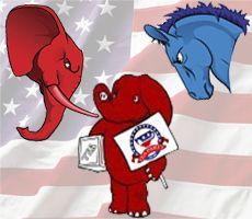 Comparison Chart: Democrats vs. Republicans vs. Tea Partiers