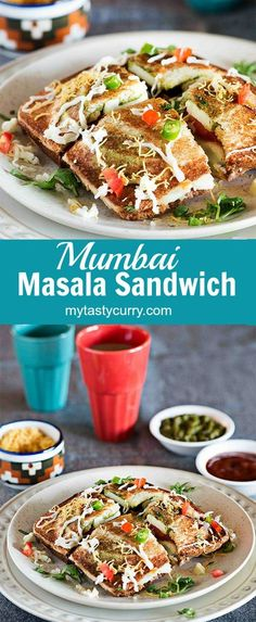 Mumbai Masala Toast is crispy and tasty toasted sandwich recipe. Layers of spicy…