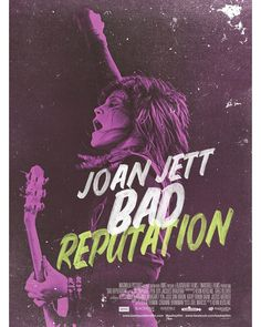 Bad Reputation Soundtrack List Music by Joan Jett Bad Reputation Soundtrack Fresh Start – Joan Jett & The Blackhearts 2018 Movies, Top Movies, Movies To Watch, Movies Online, Film Watch, Iggy Pop, Joan Jett, Kathleen Hanna, Alison Mosshart
