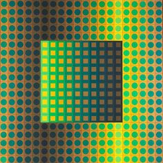 VICTOR VASARELY's 'ZETT-ZS, 1966' Acrylic on canvas, 139 x 140 cm, exhibited at The Park Crescent. For appointments and enquires kate@houseofthenobleman.com #houseofthenobleman #victorvasarely #opticalart #artlondon #theparkcrescent #frieze #amazonproperty #opart #acrylic #opticalpainting