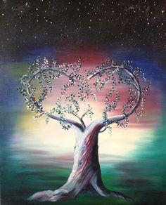 prophetic art ....  Tree of blessing