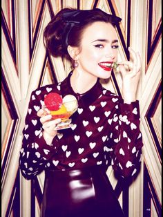 Lily Collins Glamour US July 2013-003
